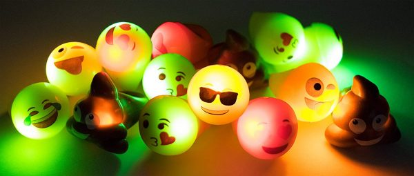 Emoji LED Rings Light Up