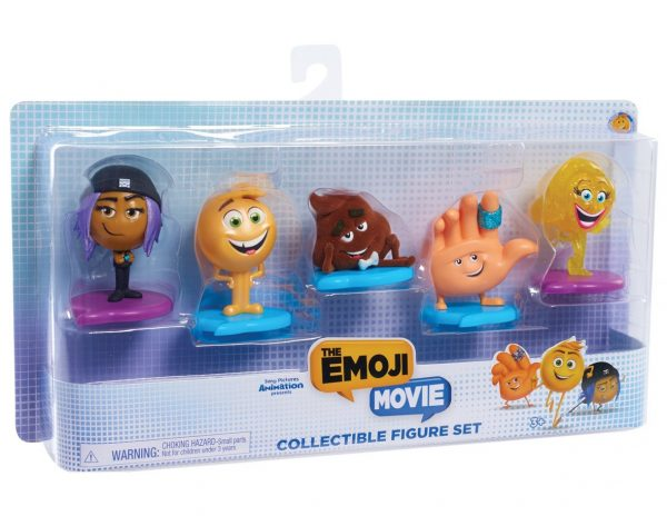 Emoji Movie Figure Set