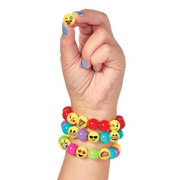 Hand With Emoji Bracelets