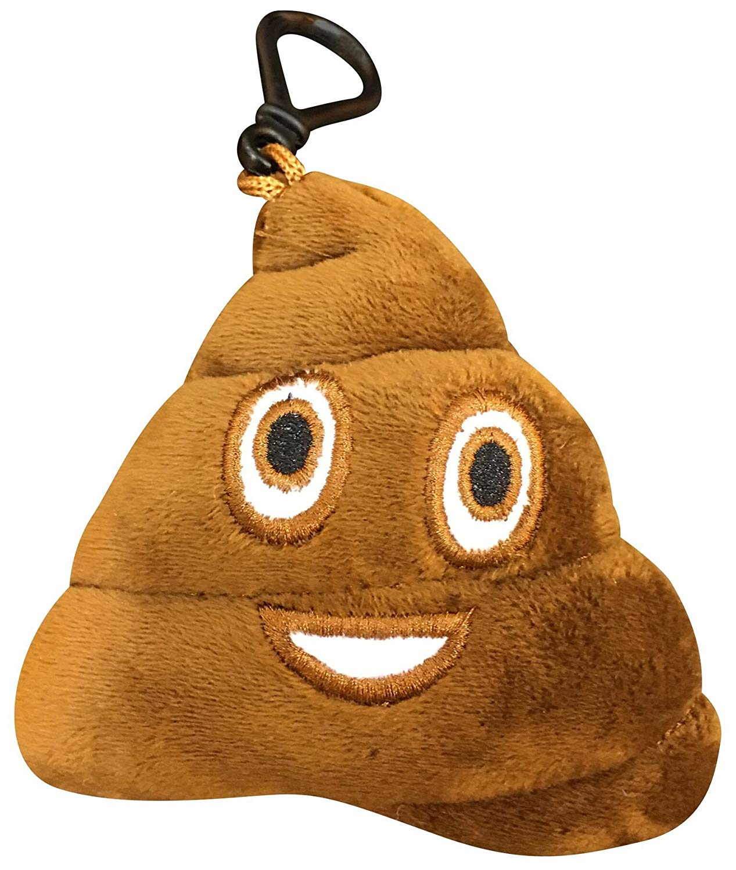 cdd29c9a64 Emoji Poop Backpack Key Chain Clip - Emoji Galore