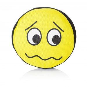 Emoji Sad Frisbee Dog Toy