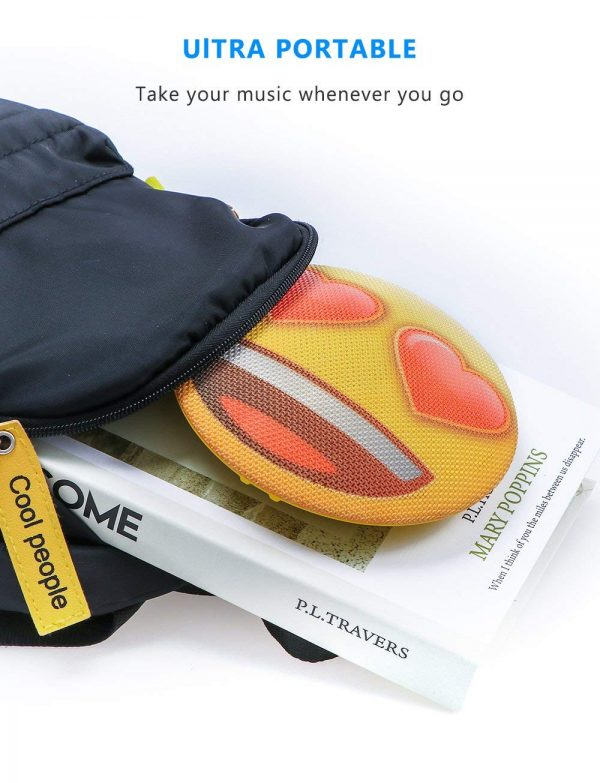 Portable Heart Emoji Speaker