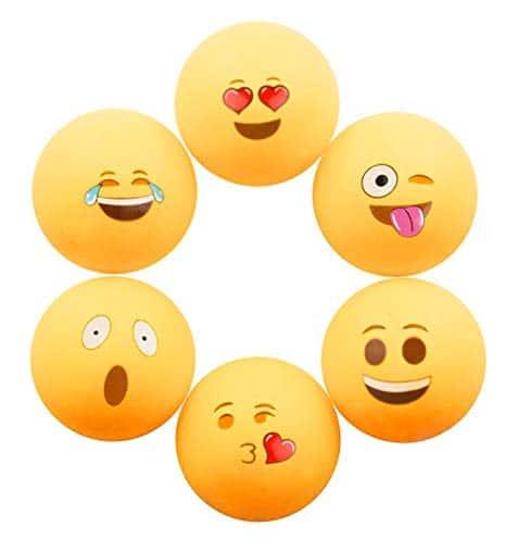 Emoji Beer Ping Pong Balls
