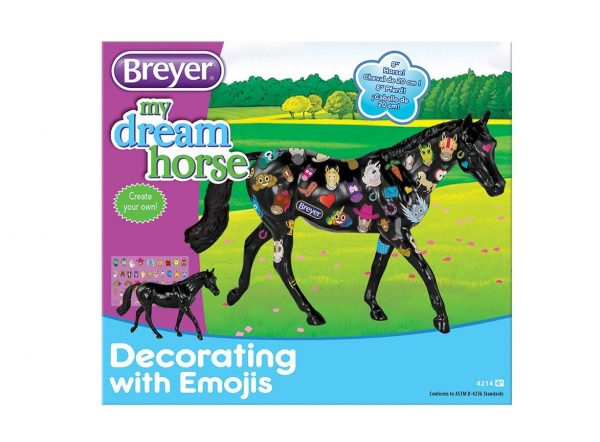 Emoji Decorate Horse Breyer Box