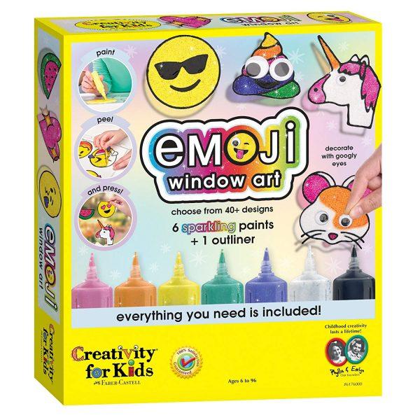 Emoji DIY Window Clings