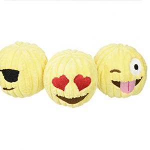 Emoji Dog Tuff Toy
