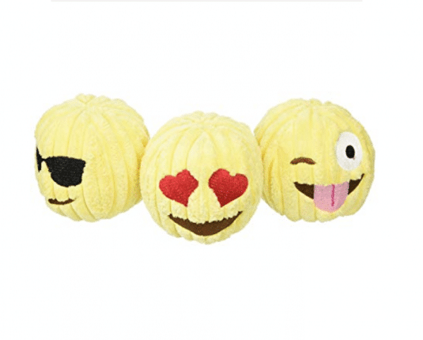 Emoji Dog Tuff Toy