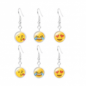 Emoji Earrings 3 Pack