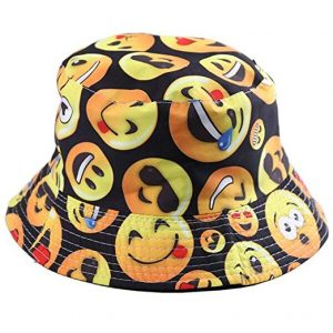 Emoji Fisherman Bucket Sun Hat
