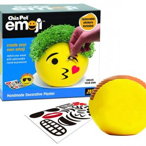 Emoji Kiss Chia Pet