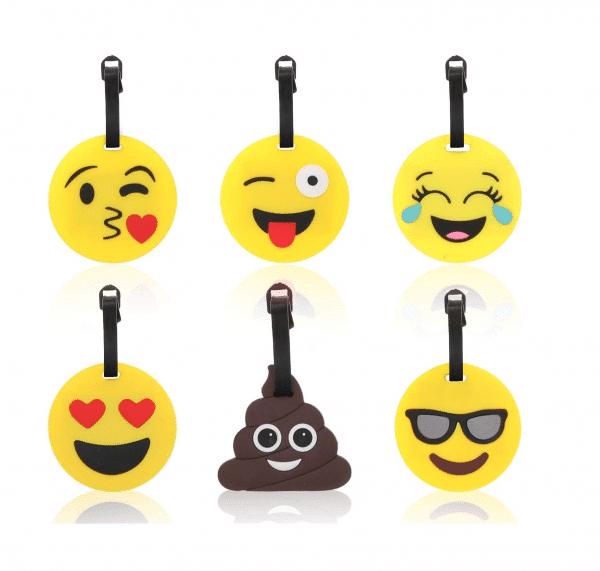 Emoji Luggage Tags