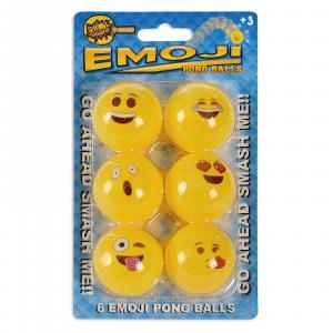Emoji Ping Pong Ball Set