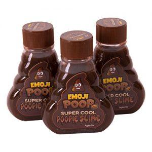 Emoji Poop Slime Three Pack