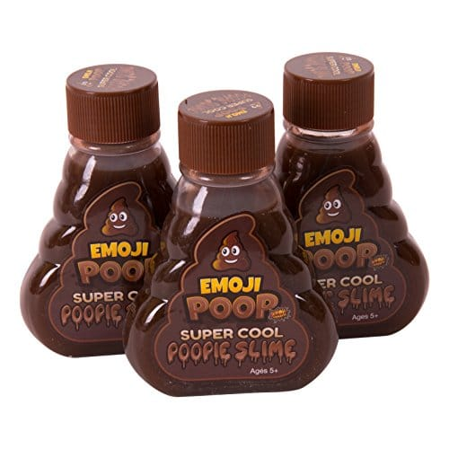 Emoji Poop Slime Three Pack