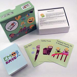 Emoji Says Game Cards
