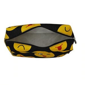 Emoji Travel Cosmetic Bag Inside