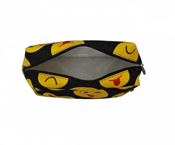 Emoji Travel Cosmetic Bag Inside