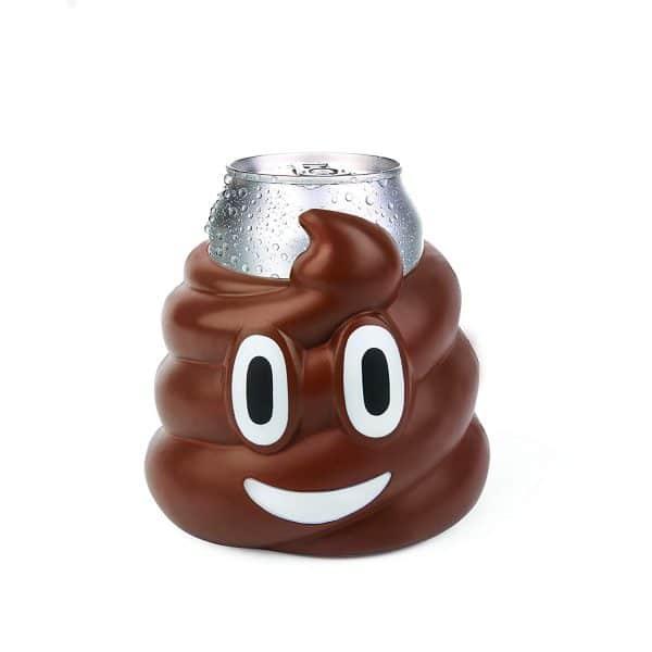 Poop Emoji Drink Koozie