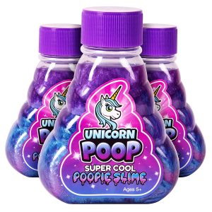 Rainbow Colored Unicorn Slime