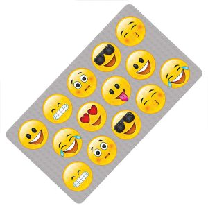 Emoji Bath Mat Color Change
