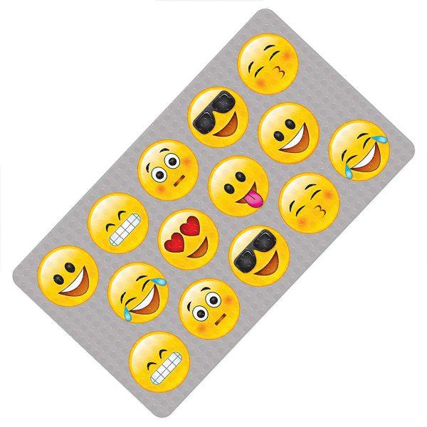 Emoji Bath Mat Color Change