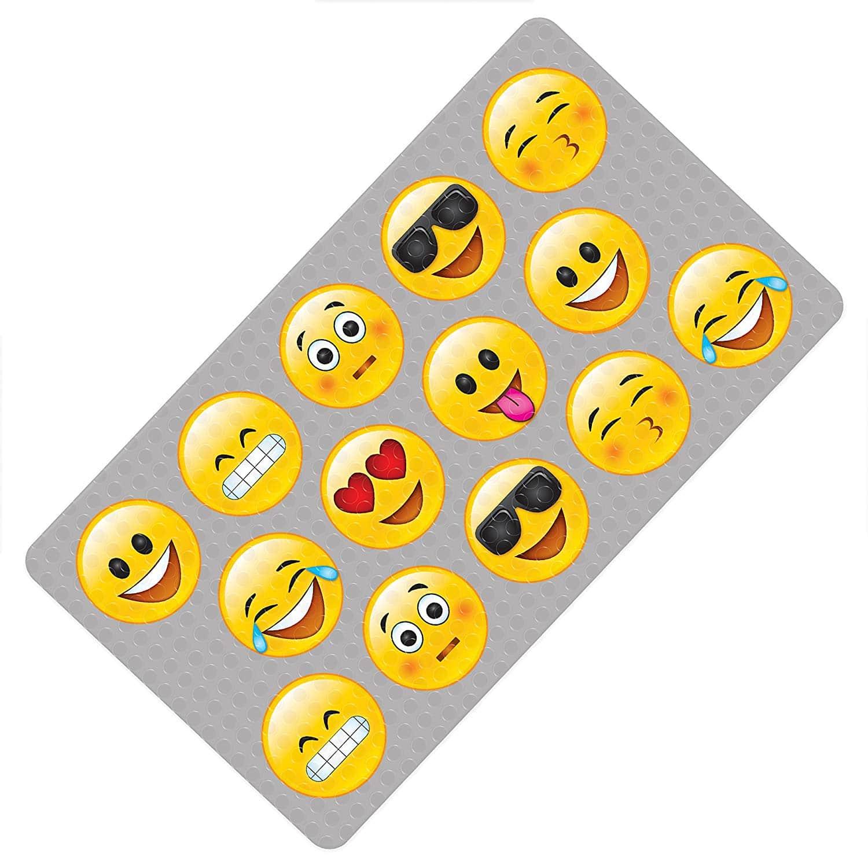 Emoji Bath Mat Multicolor