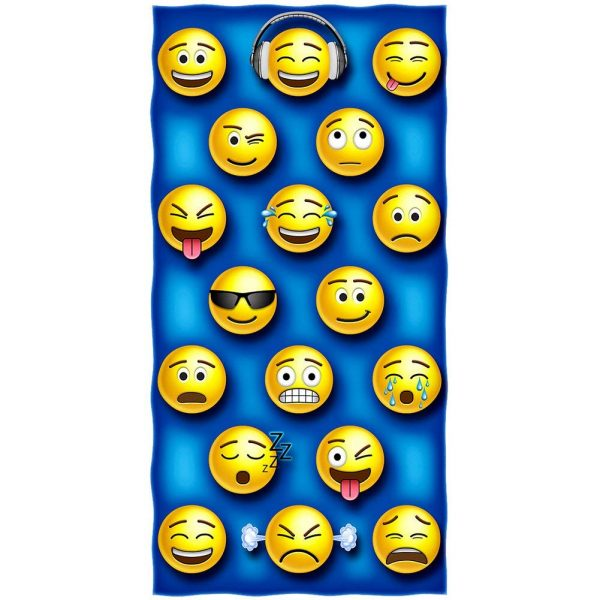 Emoji Beach Blanket