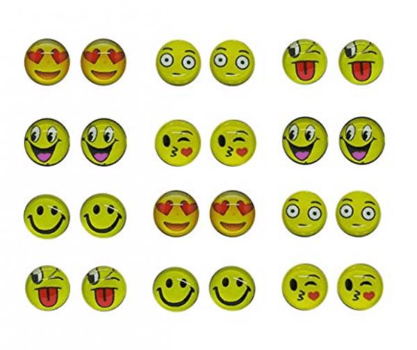 Emoji Clip On Earrings