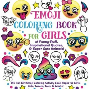 Emoji Coloring Book for Girls