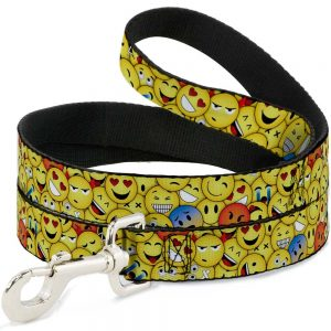 Emoji Dog Leash