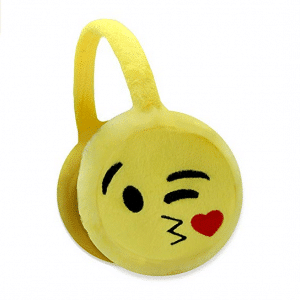 Emoji Kissing Earmuffs