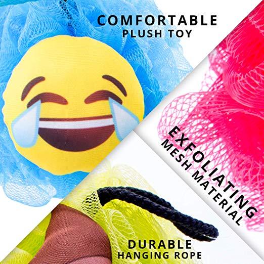Emoji Loofah Features