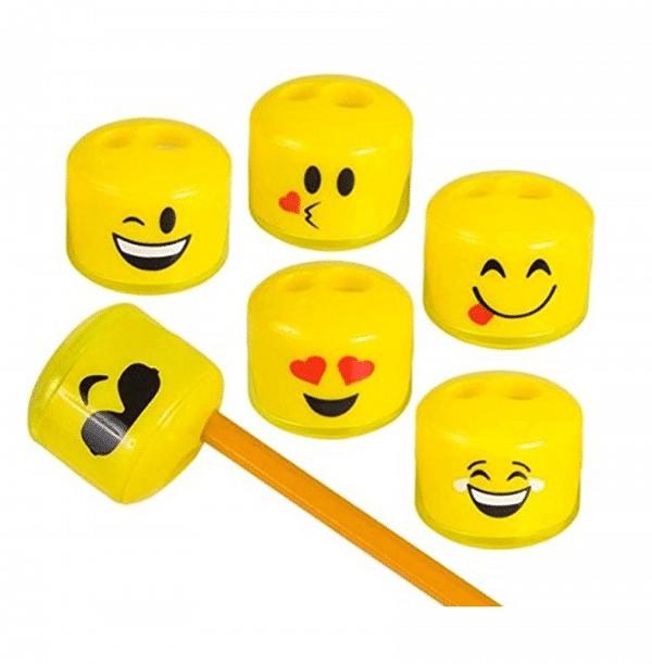 Emoji Pencil Sharpener 24 Pack