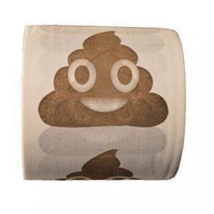 Emoji Poop Toilet Papter