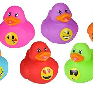 Emoji Rubber Duckies