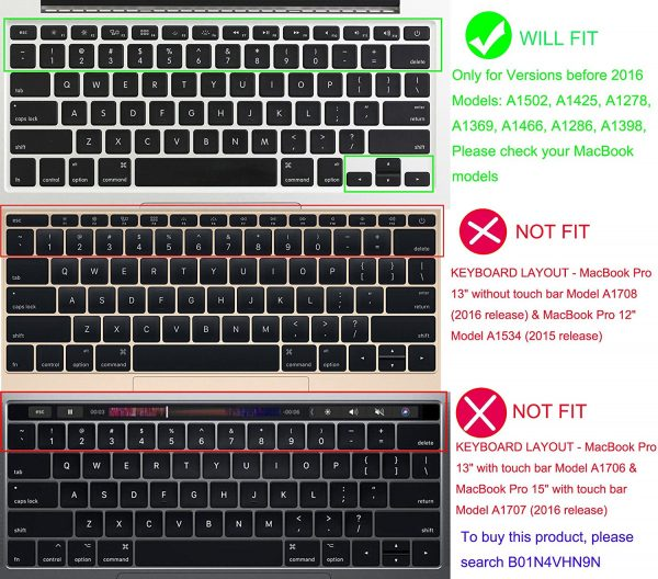Keyword Comptaibility Skin for Emoji MacBook