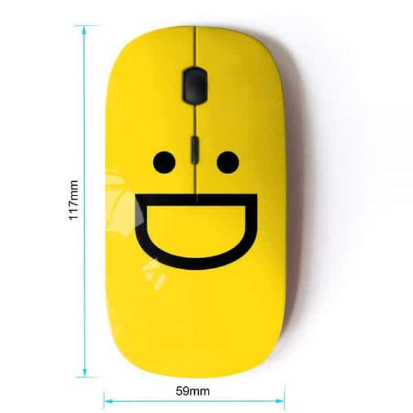 Wireless Mouse Emoji Smiley