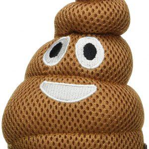 Poop Emoji Dog Toy