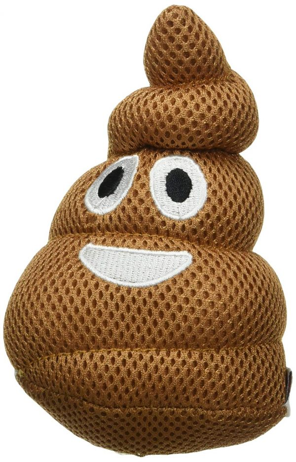 Poop Emoji Dog Toy