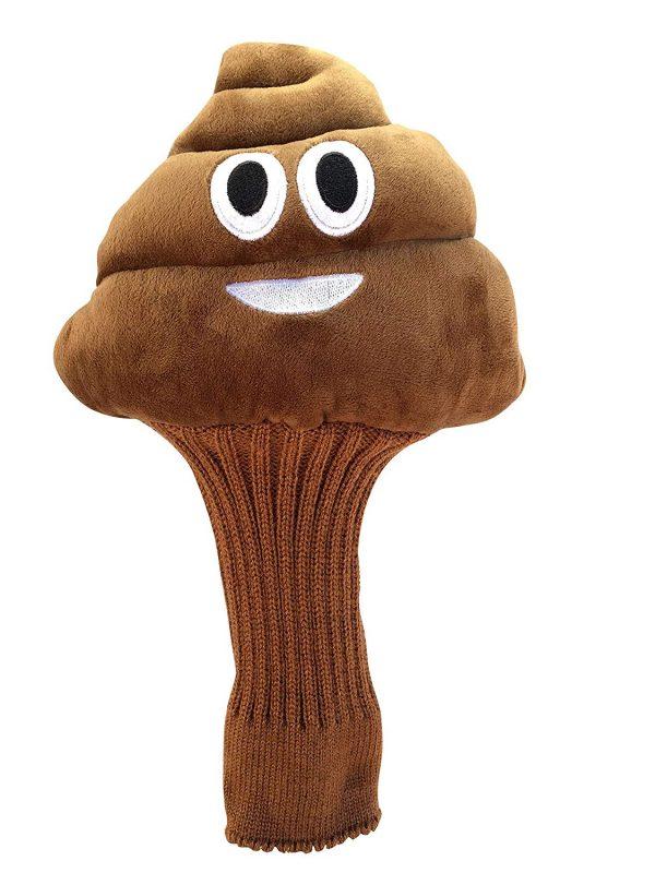 Poop Emoji Golf Cover