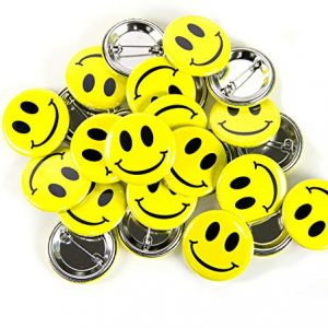 Smiley Emoji Button Set