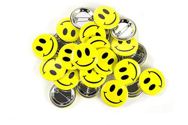 Smiley Emoji Button Set