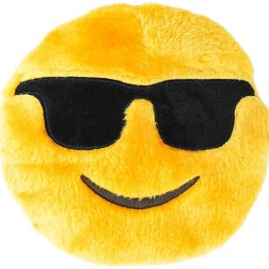 Sunglasses Smiling Plush Dog Toy