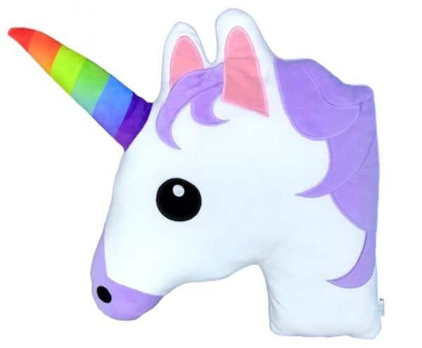Unicorn Emoji Pillow