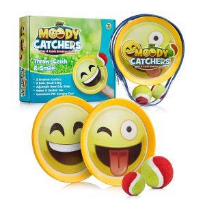 Moody Catchers Toss and Catch Emoji Game