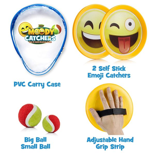 Moody Catchers Emoji Package