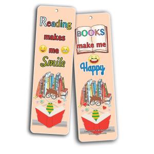Books Make Me Happy Bookmark
