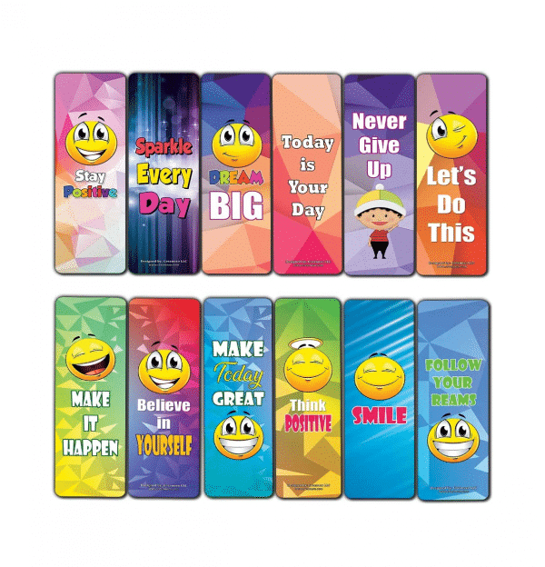 Emoji Assorted Bookmarks Pack