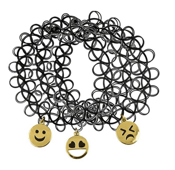 Emoji Choker Necklace Set