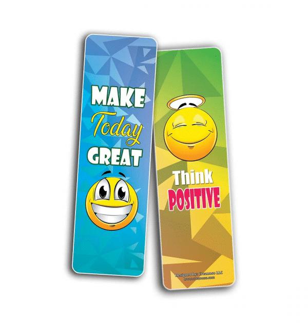 Great Positive Emoji Bookmark
